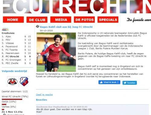Bagas Kahfi Membatalkan FC