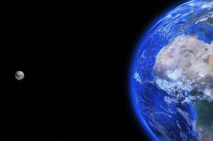 Deskripsi Bulan dan Bumi