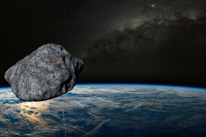 Deskripsi asteroid mendekati Bumi.