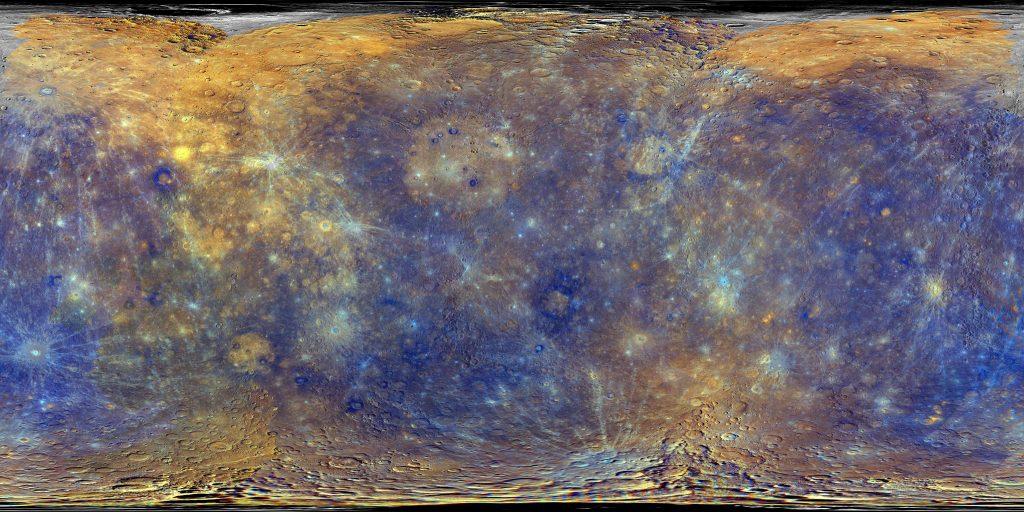 Merkurius, Planet Bintang Kejora.  Halaman Semua