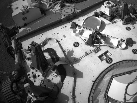Rover rajin membawa foto keluarga ke Mars