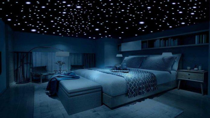Kamar Bertema Comfort Zone Galaxy dengan Suasana Tenang dan Nyaman