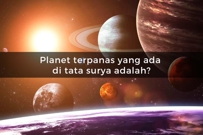 [QUIZ]    Kuis tentang luar angkasa, jika Anda bisa menjawab, Anda adalah seorang jenius!