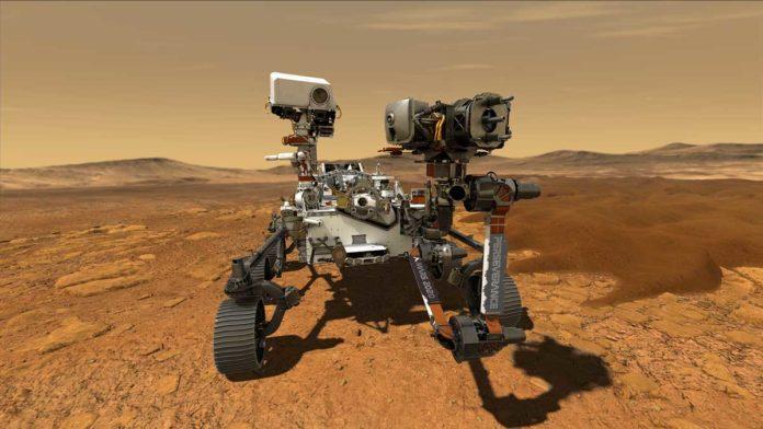 Saat dieksplorasi dari teknik ketekunan, robot Mars Explorers