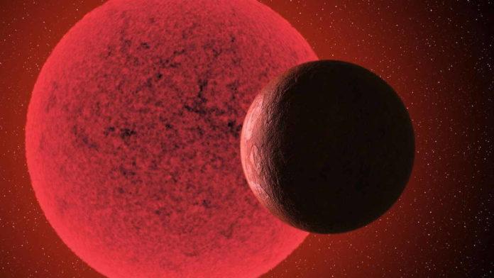 Planet Extrasurya GJ740b