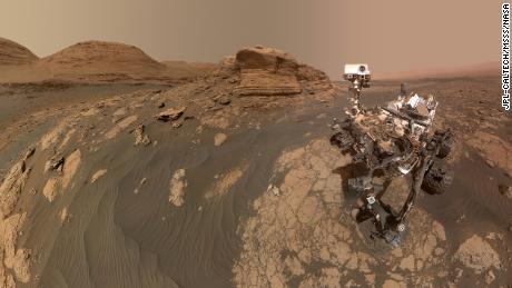 Rover Curiosity adalah & # 39;  Mont Mercio?