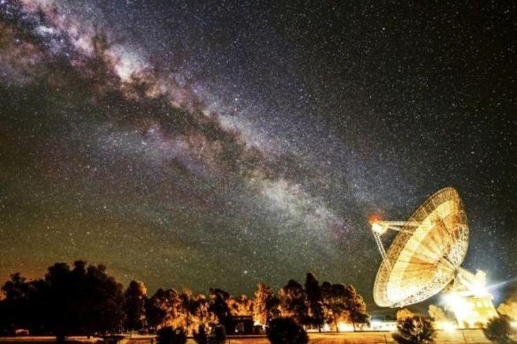 Foto itu diambil dengan teleskop 64 meter di Laboratorium Taman Galaksi Bima Sakti.