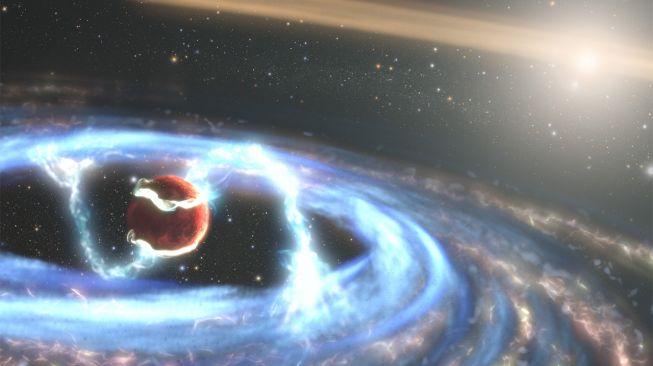 Exoplanet Junior.  PDS 70b. [Hubblesite.otg]