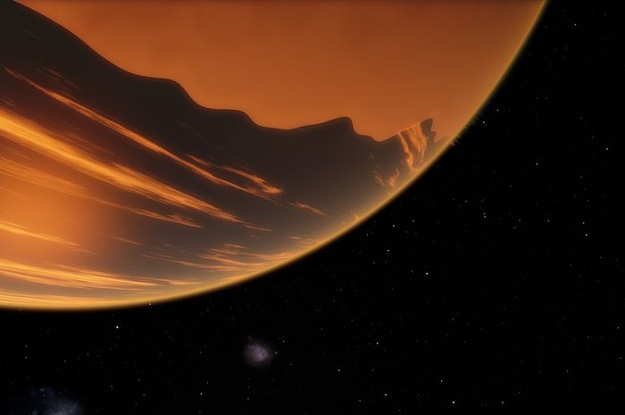 Deskripsi Exoplanet di luar angkasa
