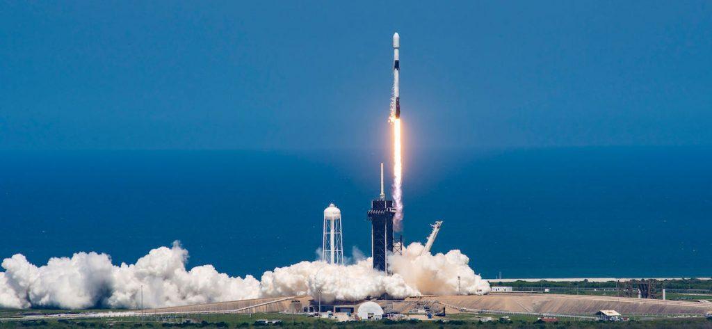 Peluncuran Starling 100 sejak kegagalan pesawat misil Falcon menandai misi ini