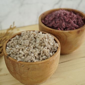 Deskripsi beras dari beras analog.
