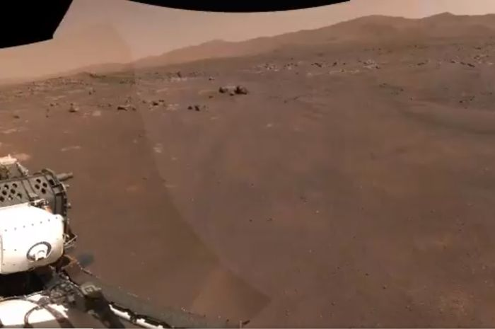Wilayah Sita di Mars dikunjungi oleh penjelajah dengan rajin.